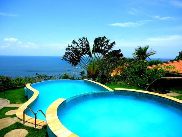 1 suíte c\ a melhor vista do Morro - Cairu