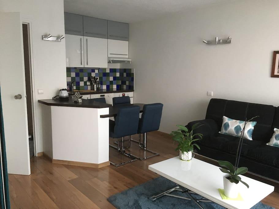 Appartement en excellent état mobilier neuf