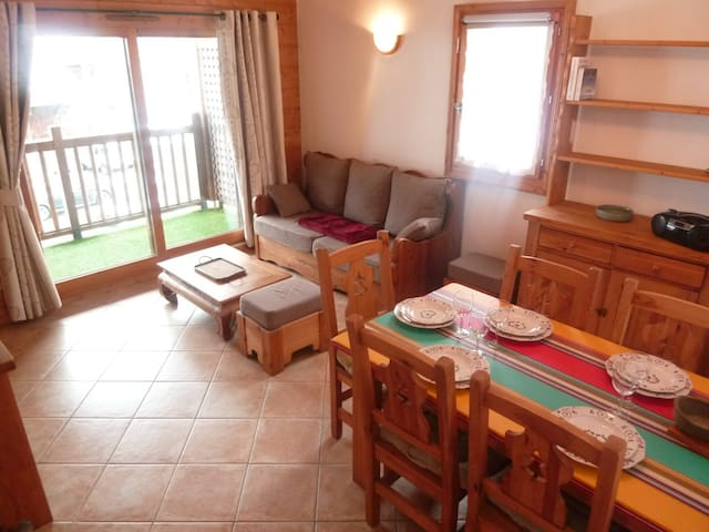 In the center, comfortable apartment