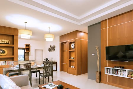 Near Aonang beach, new private villa, 2 bedrooms.