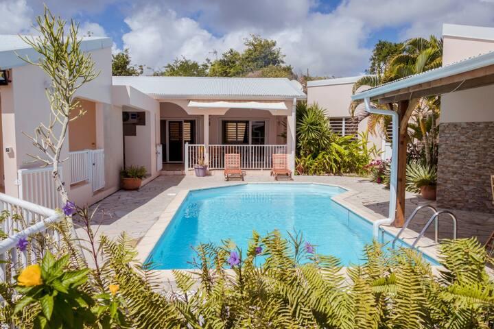 Villa du domaine des 3 caps, piscine et vue mer