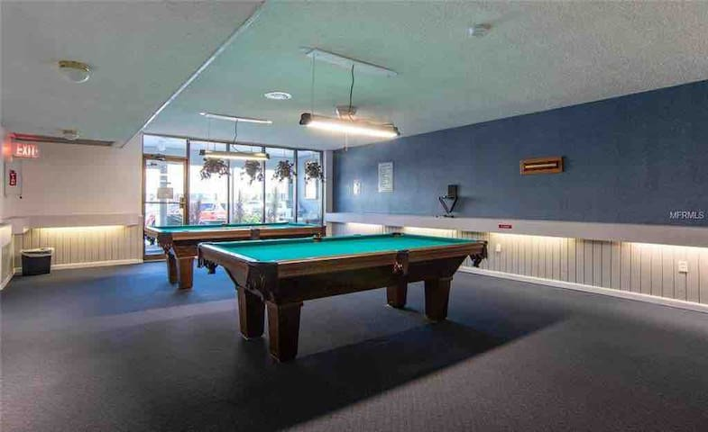 Billiards anyone?  Two tables in the clubhouse for your use.