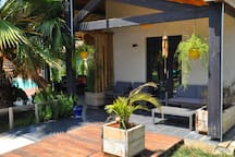 terrasse privative Lounge Safari