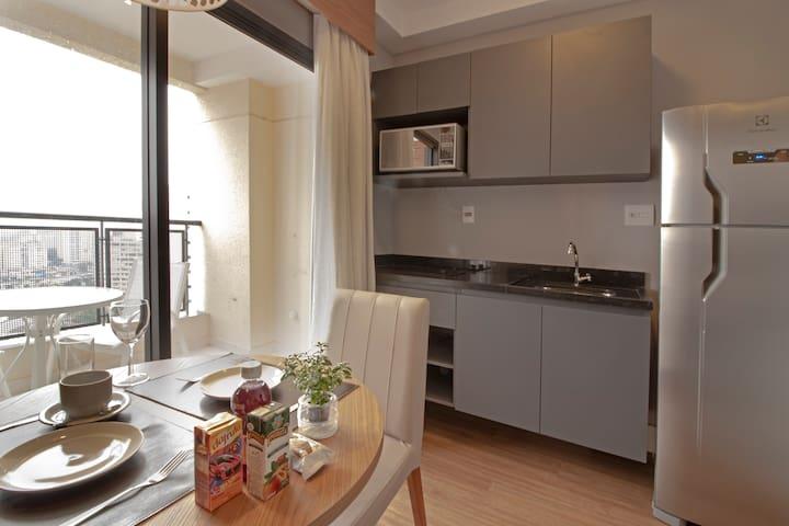 Apartamento moderno em Pinheiros