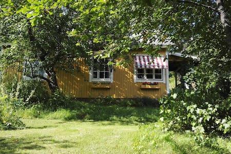 Charming grandma's cottage in a idyllic village