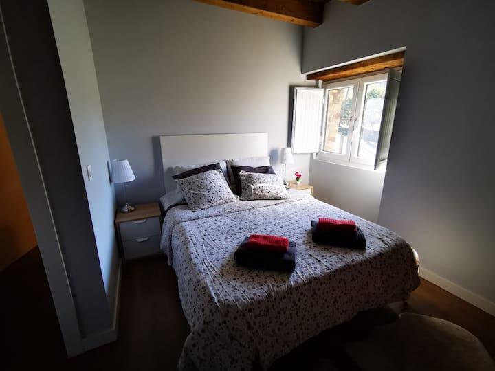 Habitación con desayuno en caserío rural