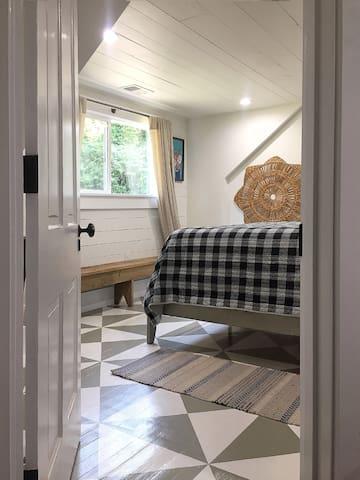 Bedroom #2: Upstairs Queen Bedroom