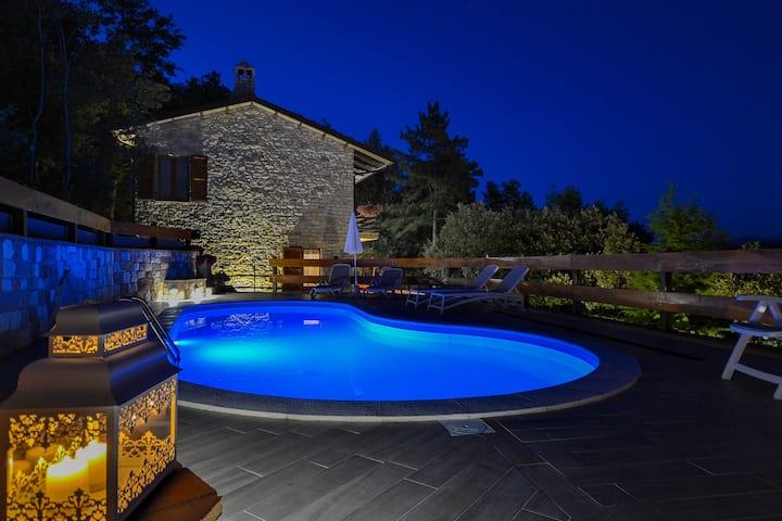 VillaSubasioRelax, Umbria, Spello, Assisi, piscina