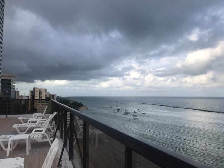 Flat 4 rodas beira mar Olinda / locday
