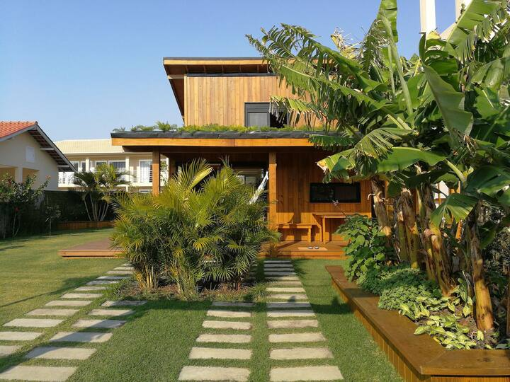 Exclusive EcoHouse! Privacy 100 m Praia Campeche