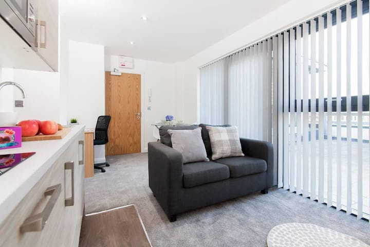 Amazing penthouse studio in Manchester City centre