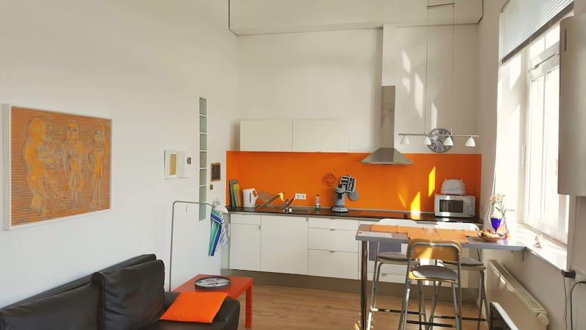 2-Zi.-Apartment im Künstlerloft