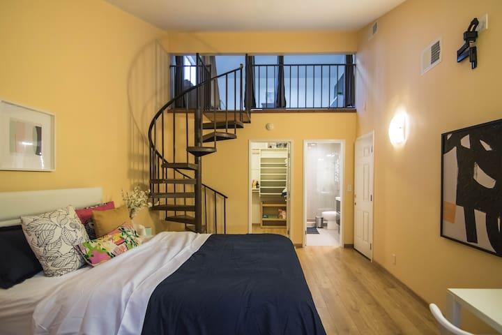 | AC | Cozy SJC Guest Suite w/ Bonus Loft!