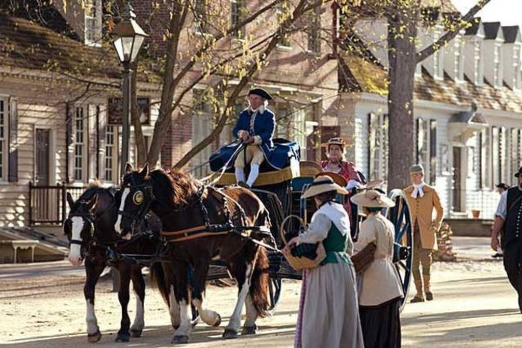 Colonial Williamsburg is mere minutes from the resort.