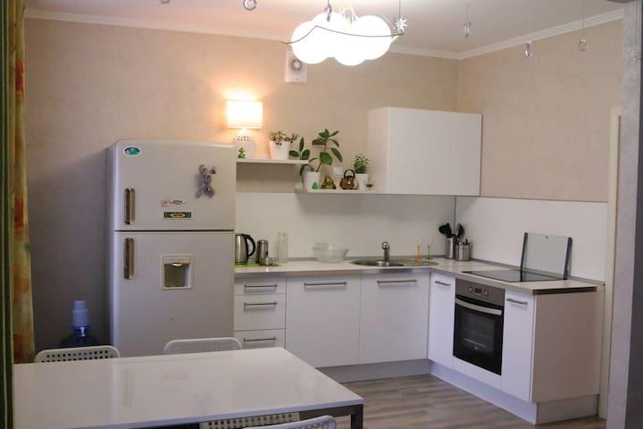 Apartment (4km from stadium Yekaterinburg Arena)