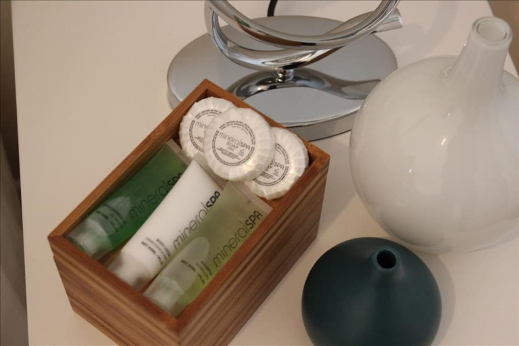 Bedside Toiletries