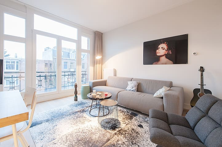 Cosy Design Apartment 2 bedrooms & 2 balconies! - Amsterdam - Appartement