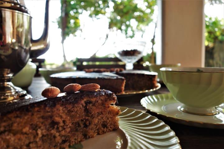 Enjoy delicious homemade cakes!