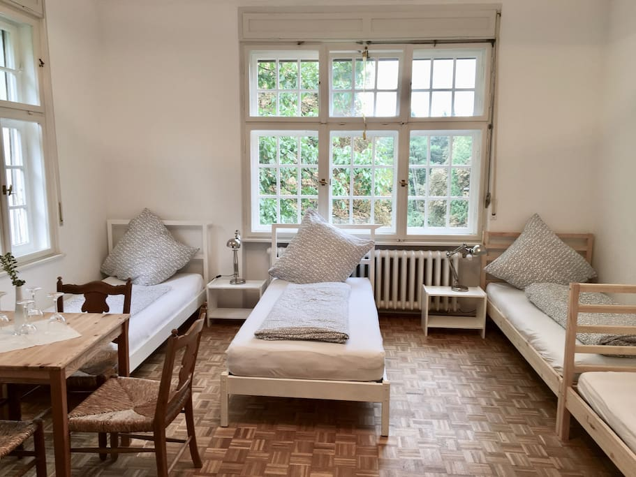 Beautiful, newly renovated large room with the possibility to accommodate up to 6 guests
