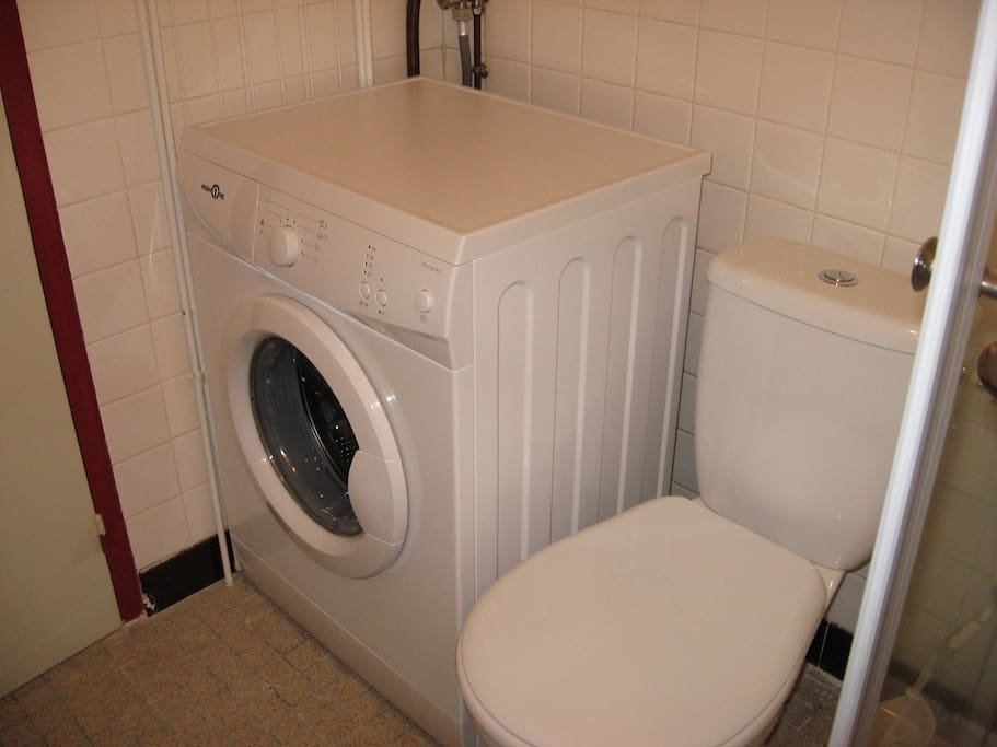 Laundry - washing machine