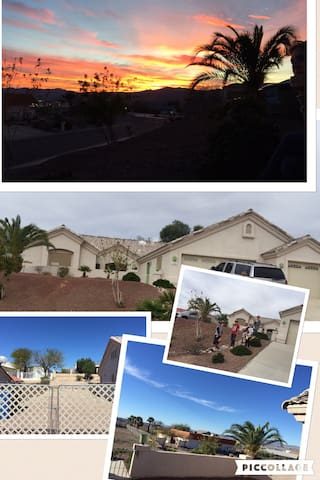 Bullhead city Lake Mohave Laughlin big family 10+ - Bullhead City - Casa