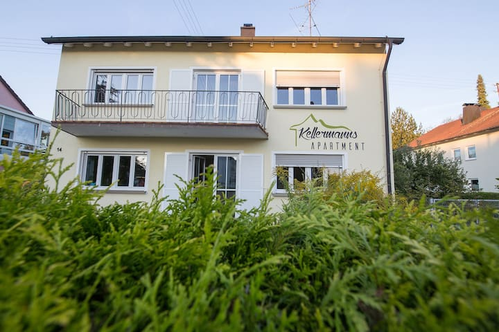 Schönes modernes Apartment für 2 Personen - Memmingen - Gjestehus