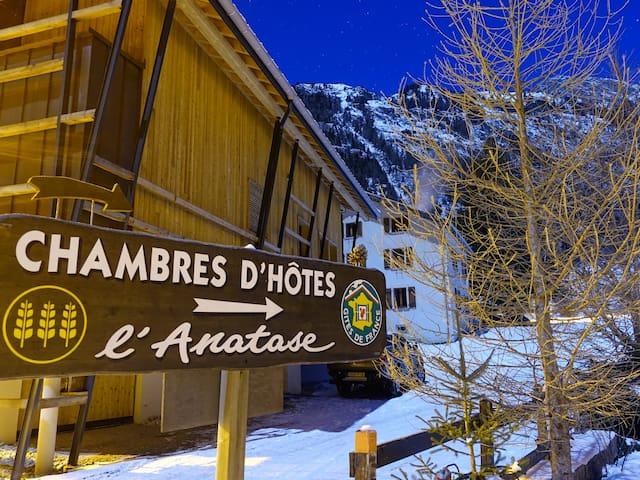 Maison d'hôtes Anatase Vallorcine proche Chamonix