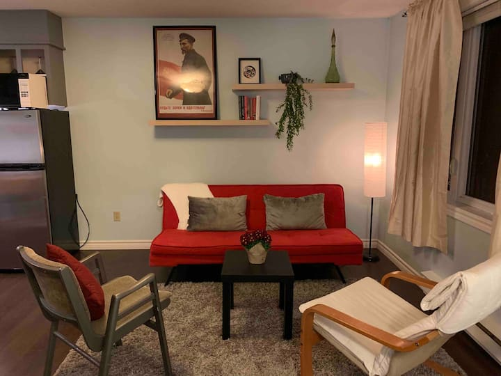 Affordable, spotless, cozy studio apt in East End