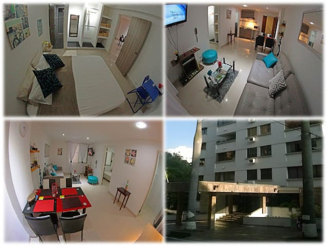 Furnished apartment in Cali - Peñón - best area - Cali - Appartement