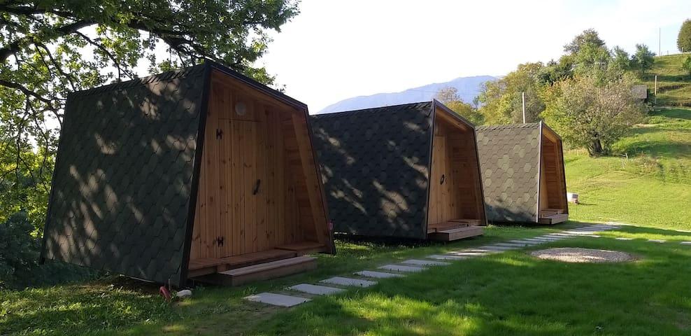 Lovely Wooden Hut Health Resort near Kamnik