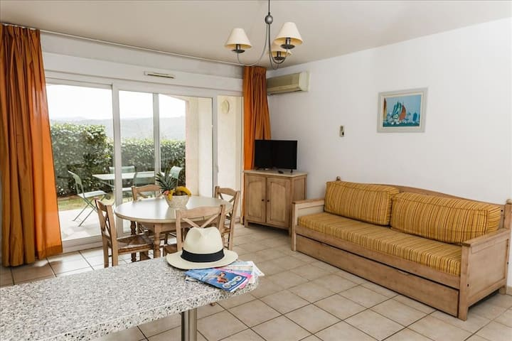 Apt. pour 6 - résidence 3* - 50 m² - Grimaud