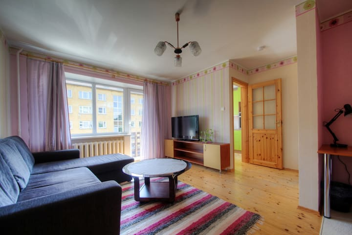 Cosy apt. in historical part of Tartu near centre - Tartu - Apartemen