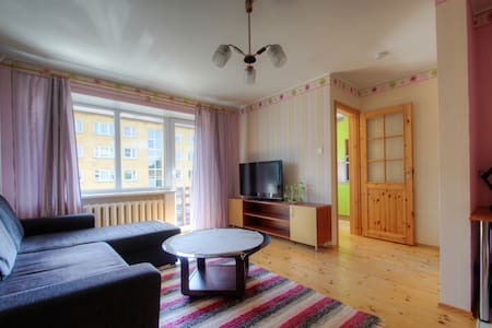 Cosy apt. in historical part of Tartu near centre - 塔尔图 - 公寓