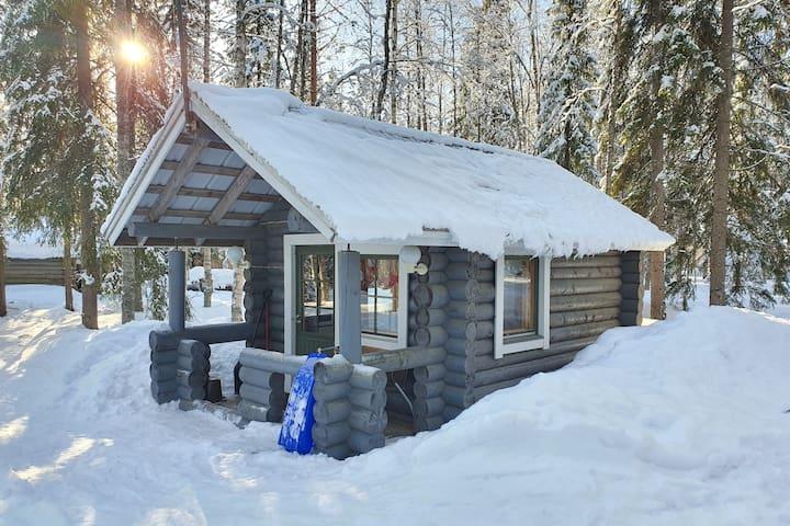 Heart of Lapland- Siikkis+wood heated sauna
