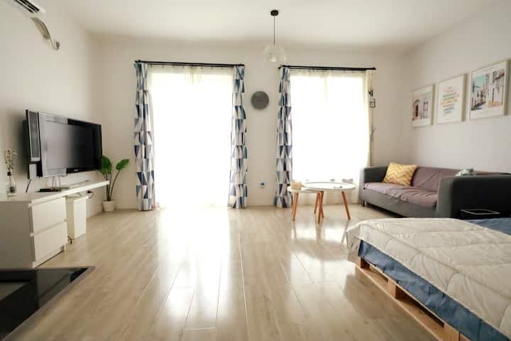 【新房客】纯色系房间/步行太古里/地铁口/市中心的中心