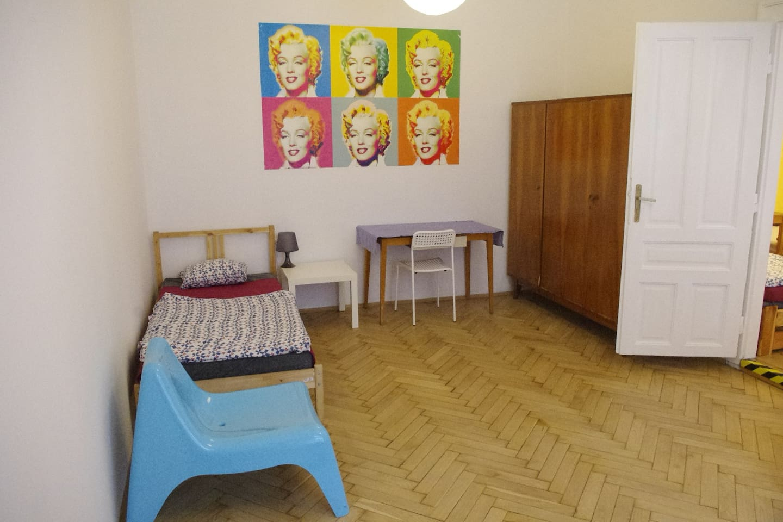 Nice and fullu equiped sunny room