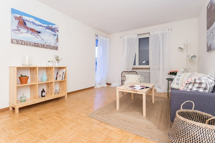 WELCOMING, CENTRALLY LOCATED APT IN SCHAFFHAUSEN - Neuhausen am Rheinfall - อพาร์ทเมนท์