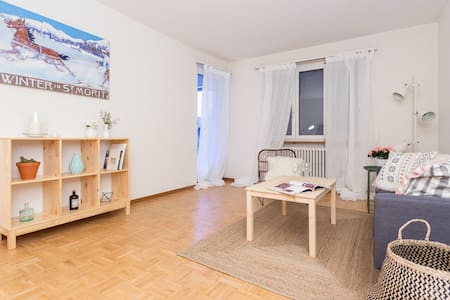 WELCOMING, CENTRALLY LOCATED APT IN SCHAFFHAUSEN - Neuhausen am Rheinfall - Apartament