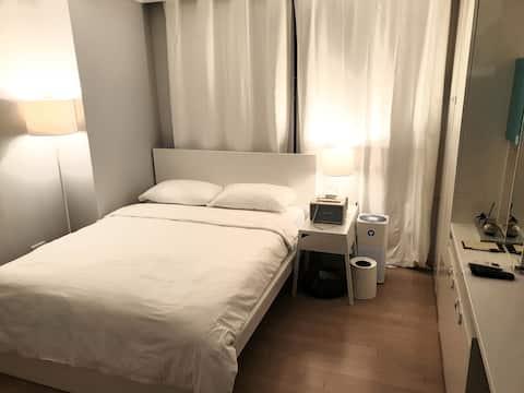 송도 센트럴파크 HOONTEL - HERMES룸