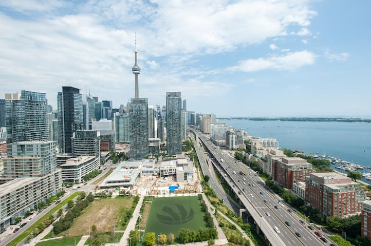 BEST LOCATION WITH CN TOWER VIEW