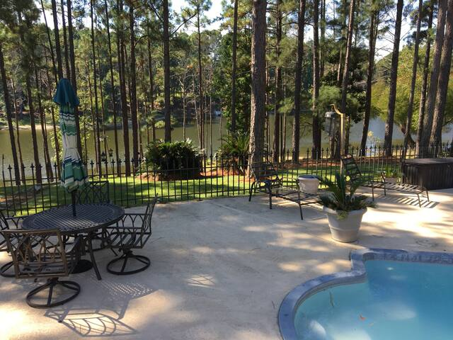 Rayburn Country waterfront Guest/Bunkhouse - Brookeland - Pension