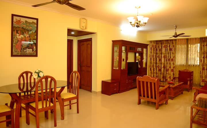 Casa Paloma - 2bhk furnished apartment in Panaji