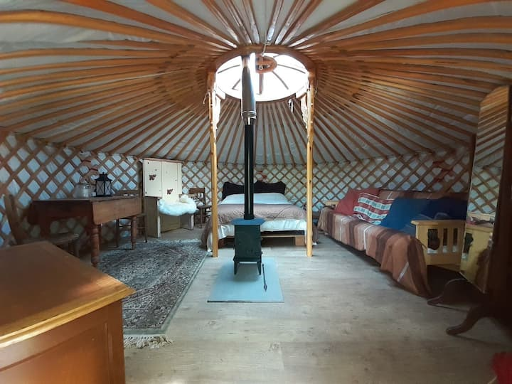 Secluded & Cosy Yurt in the Forest of Dean