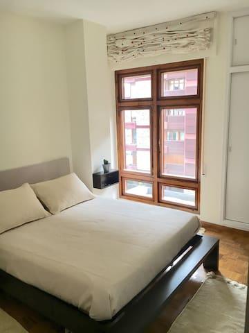 Habitación luminosa cerca del centr - Ourense - Appartement