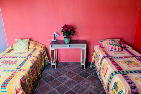 Super Cozy Private Bedrooms at Finca el Pendulo