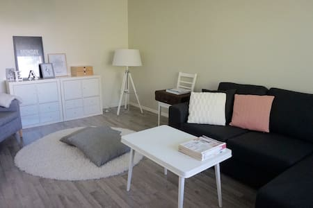 Modern 1br (52m2) apt close to city - Oulu