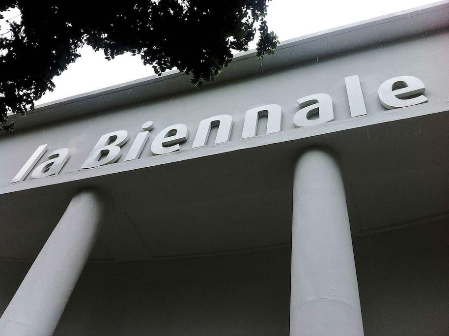 Biennale of Art - just few steps