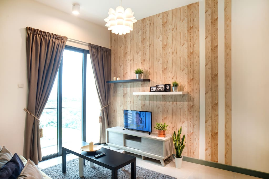 Botanical Concept apartment - Green is the greatest color to help our guests relax and have a peaceful mind. Come home to nature after a busy day in the city.
