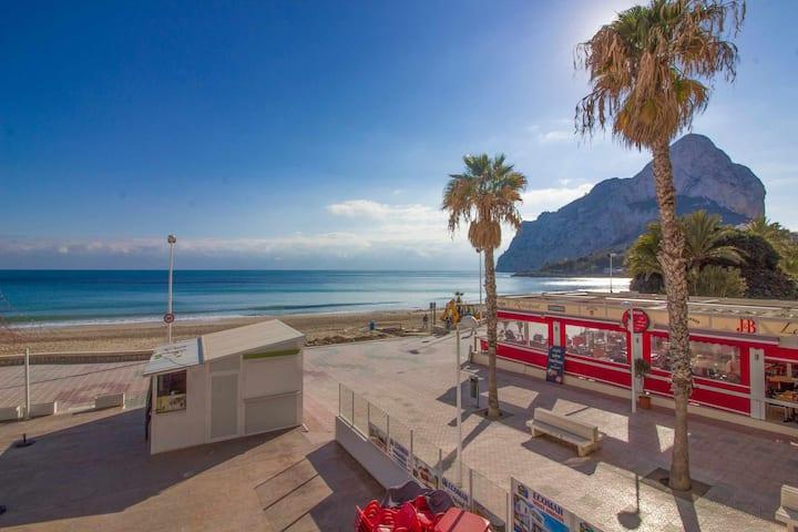 Apartamento en primera línea con terraza - Calpe Mediterráneo