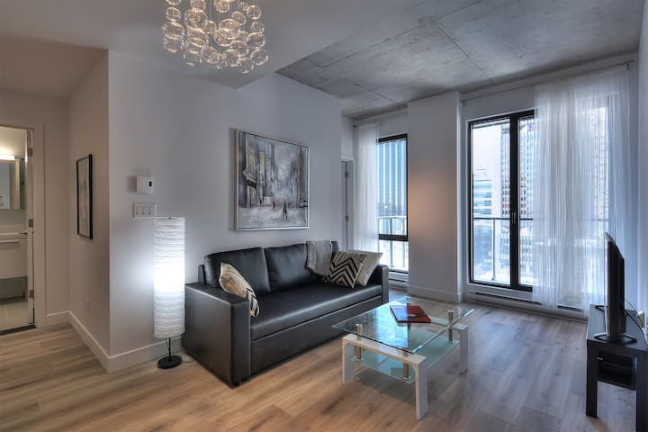 Old Montreal-Luxurious 2 Bedroom, Wifi, Balcony-08 - Montréal - Appartement